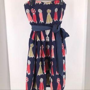 Anthropologie We Heart Vera Accolades Ribbon Dress